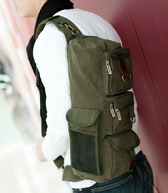 Travel sling bag, sling messenger bag - UnusualBag