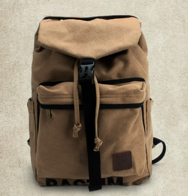 Khaki Best Backpack Computer Bag