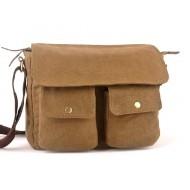 Messenger canvas bag, canvas shoulder bag mens