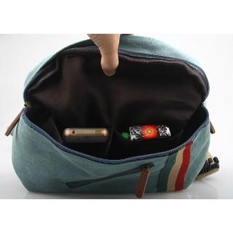 blue Trendy fanny pack
