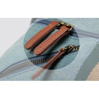 blue waist fanny pack