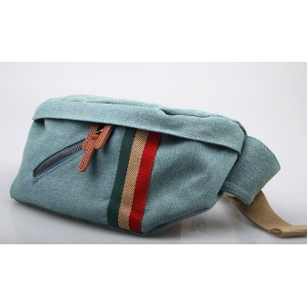 canvas Trendy fanny pack