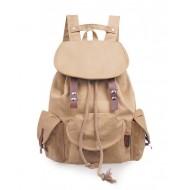 Backpacks school, vintage canvas rucksack