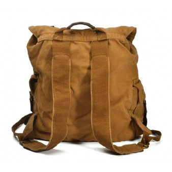 canvas rucksack vintage