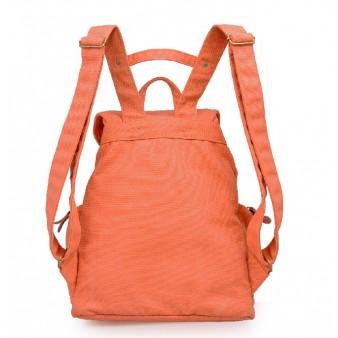 orange Backpacks for women