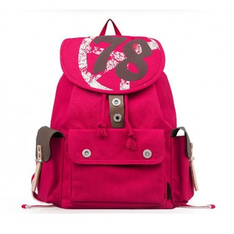 Stylish backpack, security friendly laptop backpack