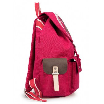 red Stylish backpack