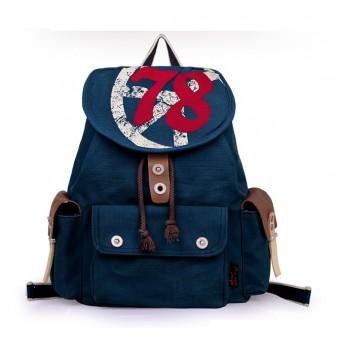 navy Stylish backpack
