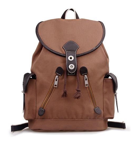 ... mens funky backpacks  brown Rucksack backpack ... dcb227521c43e