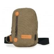 brown Sling shoulder bag