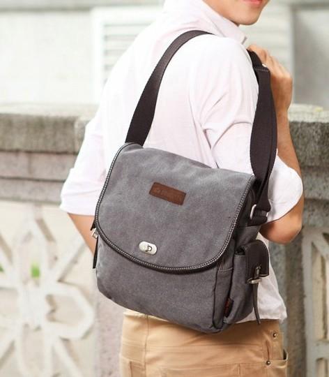 a25c81f762 Student messenger bag  canvas messenger bag for men ...