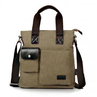 Organizer handbag, messenger bags for men canvas