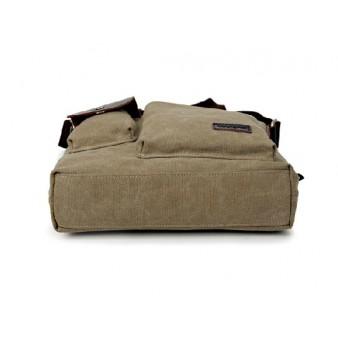 khaki messenger bags for men canvas