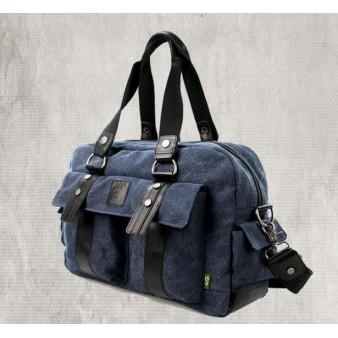 Unique shoulder bag blue